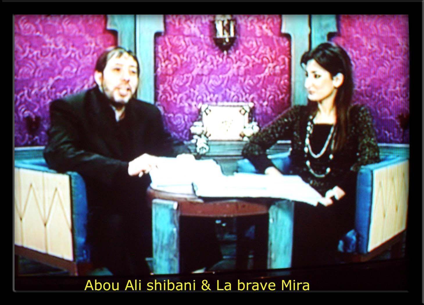 Abou Ali Chibani avec l'admirable Souer Mira
